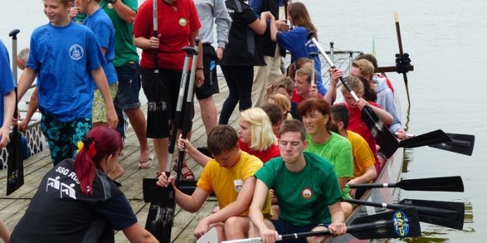 Drachenbootrennen 2014