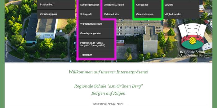Homepage in neuem Layout online