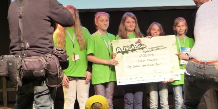 9. Schülerfirmenmesse MV – 3. Platz für Green Mountain