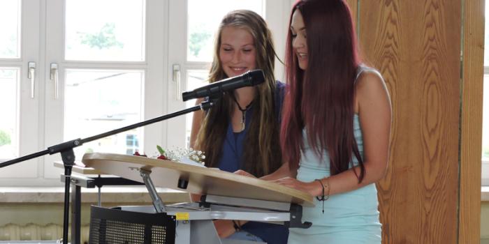 Schulentlassungsfeier 2015
