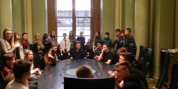 Besuch im Landtag Schwerin