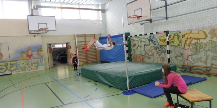 Schulmeisterschaften im Hochsprung (Teil 2)