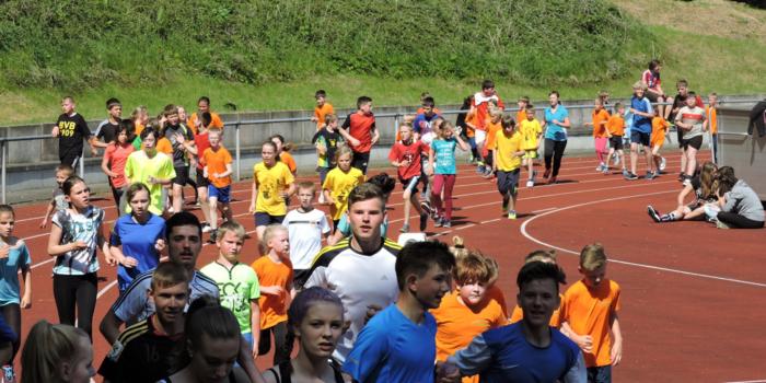 7. Lauftag der Bergener Schulen