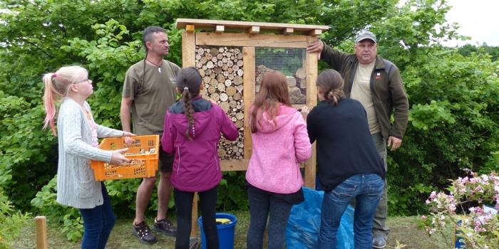 [Update:] Projekt 'Insektenhotel' erfolgreich beendet