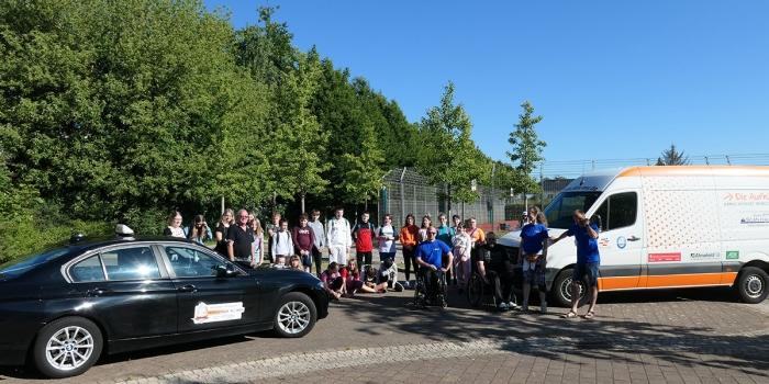 Handicap-Sport bewegt Schule