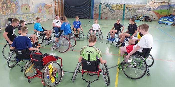 Handicapsport bewegt Schule II